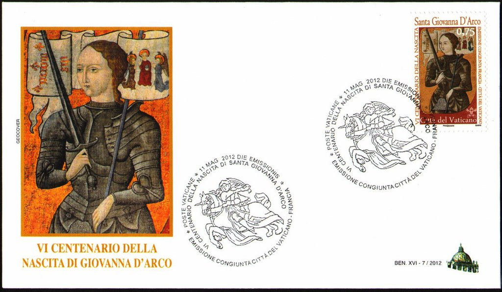 Vatican City - Scott #1499 (2012) first day cover